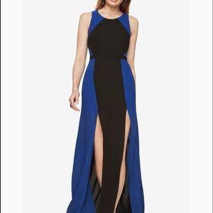 BCBG Max Azria Angela Colorblocked Gown NWT Sz. 6